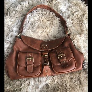 Barney's New York leather bag